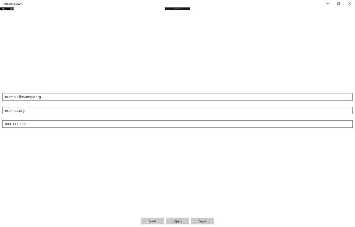 xamarin-uwp-ran-data-input