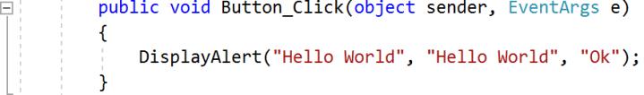 xamarin-code-hello-world